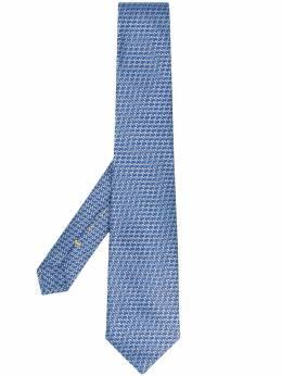 Canali жаккардовый галстук 79HX02721