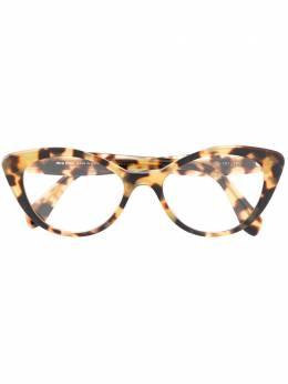 Miu Miu Eyewear очки в оправе 'кошачий глаз' VMU01R