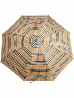 Burberry зонт в винтажную клетку 4075283