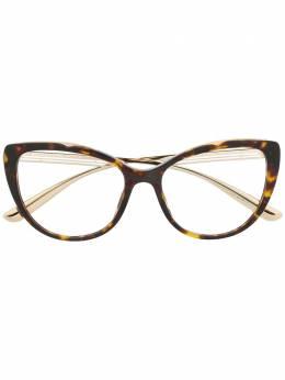 Bvlgari солнцезащитные очки в оправе 'кошачий глаз' 4181
