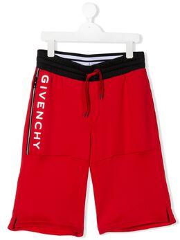 Givenchy Kids шорты с логотипом H24087991