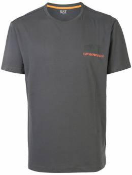 Ea7 футболка с логотипом 3HPT29PJJ6Z