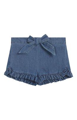 Джинсовые шорты Chloe C04132/3M-18M