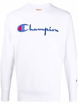 Champion толстовка с круглым вырезом и вышитым логотипом 215169WW001