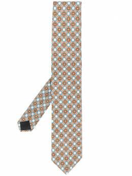 Lardini галстук с геометричным принтом EICRC7EI54153450CE