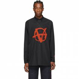 Vetements Black and Red Anarchie Shirt SS20SH275