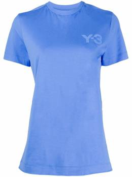 Y-3 футболка с круглым вырезом и логотипом FS2372