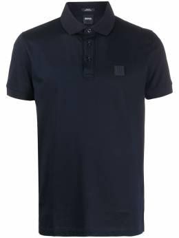 Boss by Hugo Boss рубашка-поло с нашивкой-логотипом 50426057
