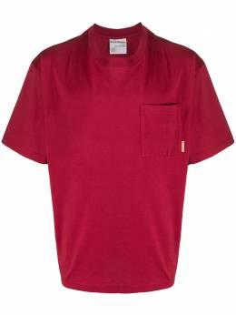 Acne Studios футболка свободного кроя с нагрудным карманом BL0175