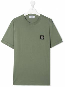 Stone Island Junior футболка из джерси 721620147