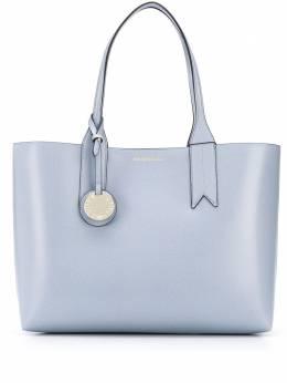 Emporio Armani сумка-тоут с логотипом и верхними ручками Y3D081YH15A