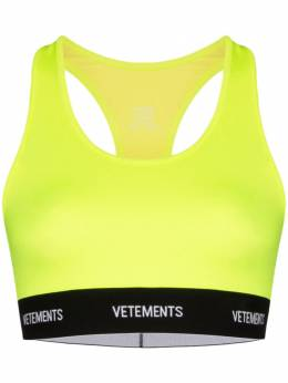 Vetements спортивный бюстгальтер Fluorescent SS20TR3422614