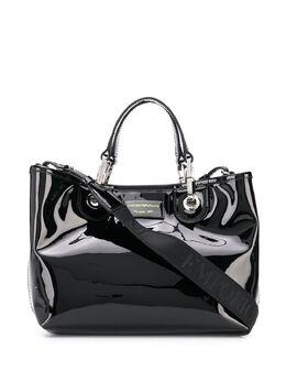 Emporio Armani сумка-тоут с логотипом и верхними ручками Y3D166YFR2E