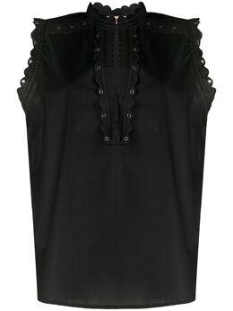 Twin-Set блузка с вышивкой 201TT2060