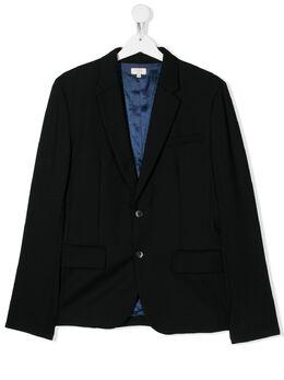 Paul Smith Junior однобортный пиджак строгого кроя 5Q40502S2S3