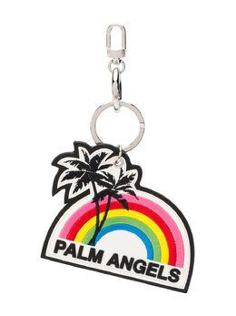 Palm Angels брелок с логотипом PWNF005S20MET0011001