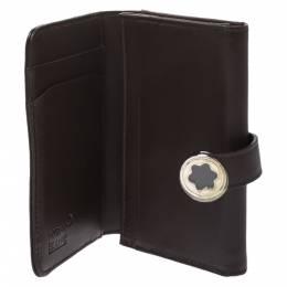 Montblanc Dark Brown Leather Lady Star Card Case 277132