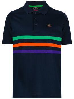 Paul & Shark рубашка-поло из ткани пике E20P1274