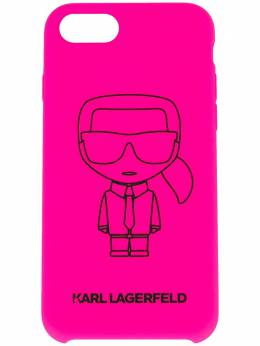 Karl Lagerfeld чехол K/Ikonik для iPhone 8 KL20FLP8510
