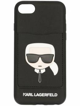 Karl Lagerfeld чехол Karl Cardslot для iPhone 8 KL20CRD8999