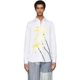 Loewe White Daisy Print Shirt H2109250CG