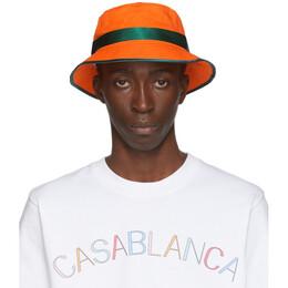 Casablanca Orange Bucket Hat AC20-HAT-001