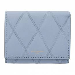 Givenchy Blue GV3 Trifold Wallet BB608UB08Z