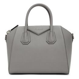 Givenchy Grey Small Antigona Bag BB05117012