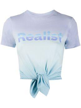 Paco Rabanne футболка с принтом тай-дай 20EJTE019CO0356