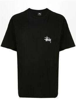 Stussy футболка с логотипом 1904500