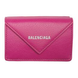 Balenciaga Pink Mini Papier Wallet 391446-DLQ0N