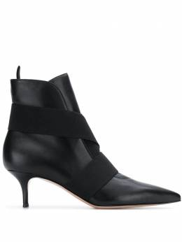 Gianvito Rossi pointed ankle boots G7380655RICNEL
