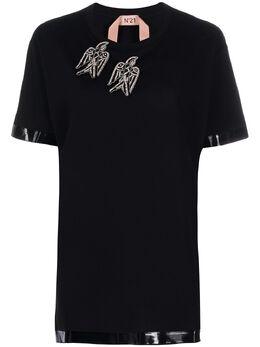 No. 21 футболка с декорированной нашивкой 20EN2P0F0526316