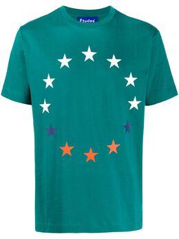 Etudes футболка Europa из джерси E16B42728