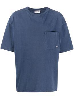 Etudes футболка с карманом E16M40507