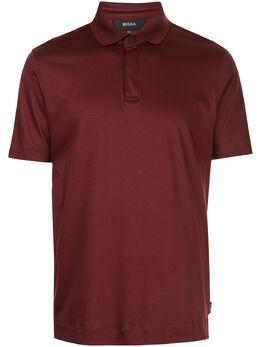 Z Zegna рубашка-поло с короткими рукавами VU348ZZ670