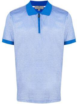 Canali рубашка-поло с короткими рукавами T0559MJ00351