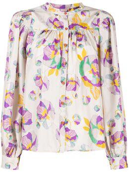 Isabel Marant блузка с принтом BS004120E013I