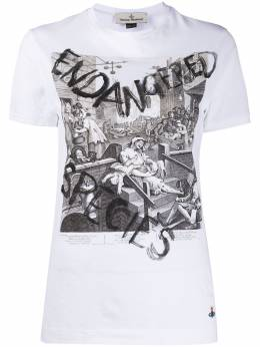 Vivienne Westwood футболка Peru с принтом S26GC0225S22634