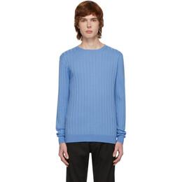 Barena Blue Knit Sweater MAU2657-0332