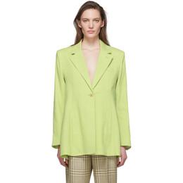 Jacquemus Green La Veste Tablier Blazer 201JA03-201 12520