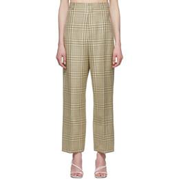 Jacquemus Green Check Le Pantalon Santon Trousers 201PA05-201 11042
