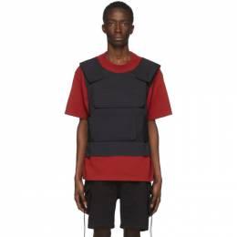 Sankuanz SSENSE Exclusive Red Harness T-Shirt SKZ19SS0TS0601-RD