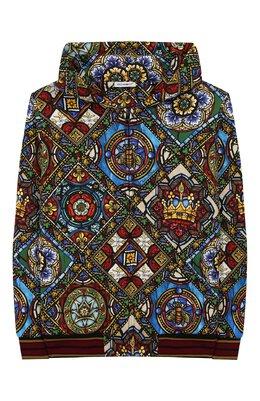 Хлопковая толстовка Dolce&Gabbana L4JW8Z/HS7AJ/8-14