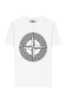 Хлопковая футболка Stone Island 721621059/10-12