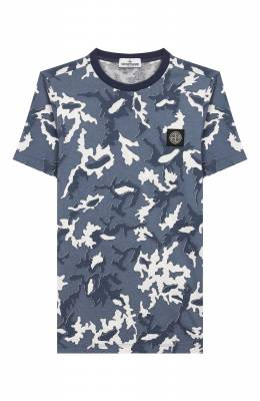 Хлопковая футболка Stone Island 721621650/14