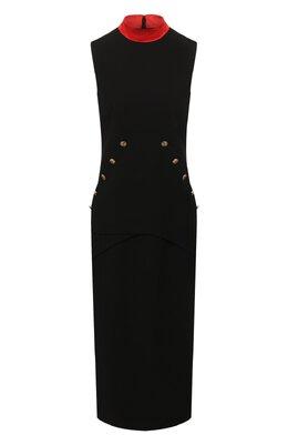 Шерстяное платье Givenchy BW20SG10EG