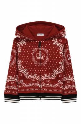 Хлопковая толстовка Dolce&Gabbana L1JW2V/G7VEU