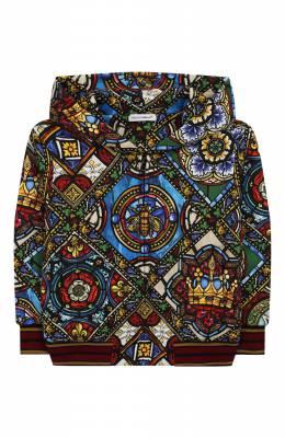 Хлопковая толстовка Dolce&Gabbana L4JW8Z/HS7AJ/2-6
