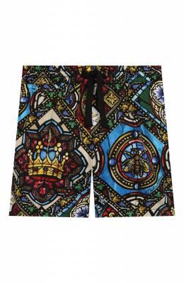 Хлопковые шорты Dolce&Gabbana L12Q52/HS5GL